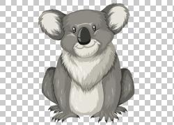 字母K,卡通考拉PNG剪贴画卡通人物,哺乳动物,画,食肉动物,手,卡通图片