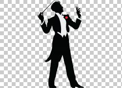 指挥音乐,个人使用PNG剪贴画杂项,其他,虚构人物,剪影,音乐会,表图片