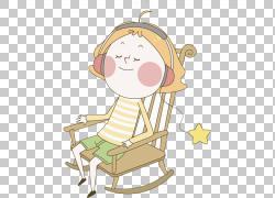 椅子,金发女孩PNG剪贴画家具,明星,时尚女孩,手,时尚,睡眠,卡通,图片