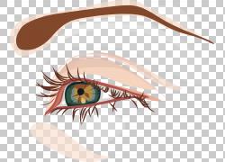 眼睛,卡通可爱的大眼图PNG剪贴画卡通人物,脸,手,人,漫画,封装的P图片