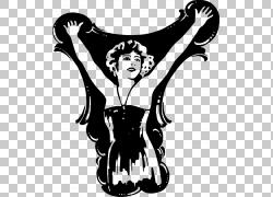 艺术,女士PNG剪贴画杂项,摄影,其他,单色,虚构人物,剪影,黑色,超图片