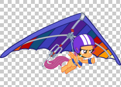 悬挂式滑翔卡通,滑翔伞PNG剪贴画杂项,紫色,其他,滑翔,虚构人物,图片