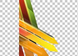 欧几里德箭头,技术企业背景的五颜六色的箭头组合,橙色和黄色箭头图片