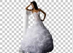 婚礼礼服新娘腰围,新娘PNG剪贴画人,婚礼,新娘,女孩,正式穿,婚纱图片