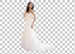 婚纱礼服鸡尾酒缎舞会礼服,新娘PNG剪贴画婚礼,人民,女孩,正式穿,图片