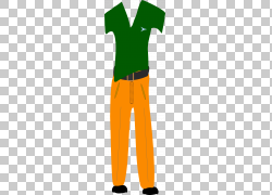 服装裤子,女孩时尚PNG剪贴画儿童服装,橙色,女孩时尚,衬衫,短裤,图片