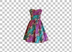 服装连衣裙时装设计非洲蜡像,kaba PNG剪贴画紫色,纺织,时尚,女人图片