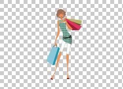 购物袋购物中心女人,购物女人PNG剪贴画业务女人,人,时尚,咖啡店,图片