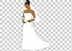 非洲裔美国人新郎,新娘PNG剪贴画白色,手,婚礼,人,新娘,买断式授图片