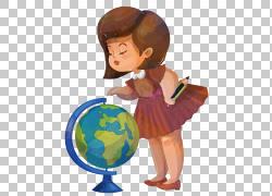 地理学生制图欧几里德地图,全球PNG剪贴画水彩画,杂项,儿童,全球,图片