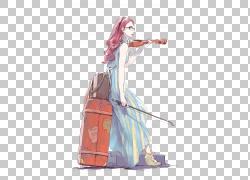 动漫绘图小提琴漫画素描,女孩,女人小提琴插图PNG剪贴画钢琴,摄影图片