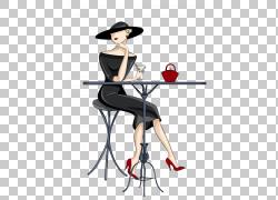 鸡尾酒马提尼音乐插画,手绘女性PNG剪贴画水彩画,家具,画,假期,手图片