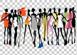跑道时装秀模型,模型PNG剪贴画名人,时尚,人类,时尚插画,女孩,封图片