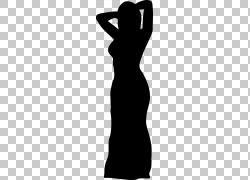 连衣裙女人,连衣裙PNG剪贴画白色,彩色,黑色,剪影,女人,礼服,关节图片