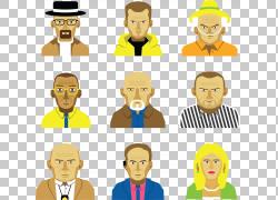 面部毛发面部表情男人图释,打破坏PNG剪贴画脸,虚构人物,人,头,人图片