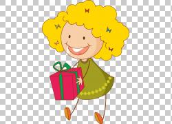 礼物女孩,给PNG剪贴画杂项,儿童,食品,虚构人物,花卉,女孩,艺术,图片
