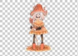 绘图蘑菇插图,蘑菇女孩PNG剪贴画水彩画,画,时尚女孩,手,橙色,插图片