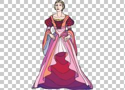 罗密欧与朱丽叶哈姆雷特伊阿古,手绘女王PNG剪贴画水彩绘画,紫色,图片