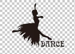 墙贴花芭蕾舞者贴纸,芭蕾舞女孩舞者PNG剪贴画时尚女孩,工作室,人图片