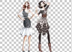 时尚时尚设计绘图,性感的服饰设计图稿PNG剪贴画水彩画,手,时尚,图片