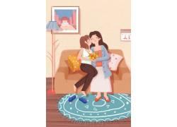母亲节插画素材 (82)