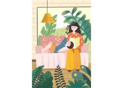母亲节插画素材 (88)