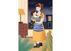 母亲节插画素材 (89)