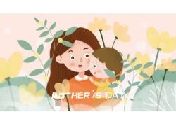 母亲节插画素材 (9)