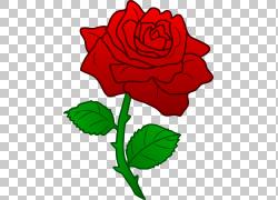 玫瑰花,美女与野兽,红玫瑰PNG剪贴画蓝色,插花,白色,叶,颜色,植物
