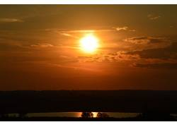 阳光,太阳,性质,放松,天空,橙子,景观,自然光56892图片