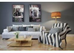 室内一角装修设计效果图图片