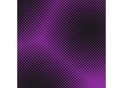 紫色光点黑色矢量底纹背景