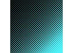 蓝色光点黑色矢量底纹背景