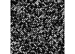 白色光点黑色矢量底纹背景