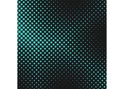 绿色光点黑色矢量底纹背景