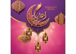 金色的清真寺星月开斋节