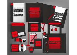红色色块公司VI