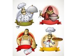 厨师矢量素材人物插画图片