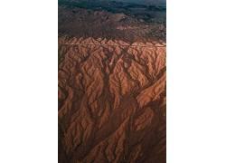 抽象花色沙漠景观