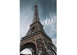 巴黎埃菲尔铁塔欧式建筑风景图片图片