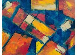 斑斓彩色纹理背景图片