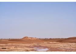 彩云沙漠高清图片素材