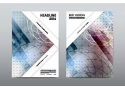 创意抽象几何企业画册设计图片