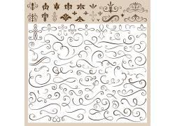 印花线素材