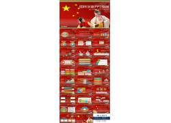中国国粹京剧powerpoint模板图片