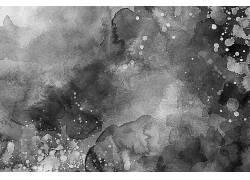 简约墨团美术艺术纹理背景