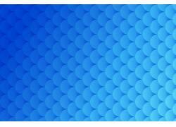 蓝色创意抽象曲线纹理素材