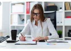 商务办公∴女白领