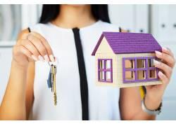 人物房子模型钥匙