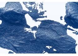 复古蓝色磨砂纹理背景图片